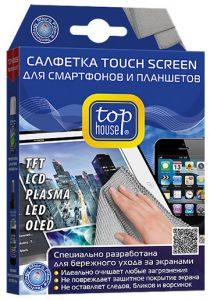 TOP HOUSE Салфетка TOUCH SCREEN, 15X20 см.